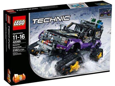 Купить Лего 42069 Экстремальные приключения Техник.