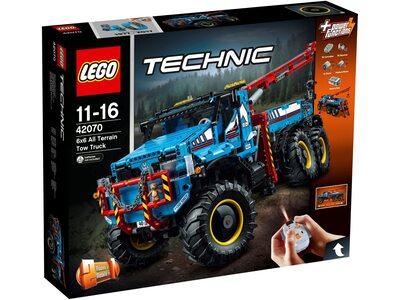 Купить Лего Техник 42070 Аварийный внедорожник 6х6 с дистанционным управлением.