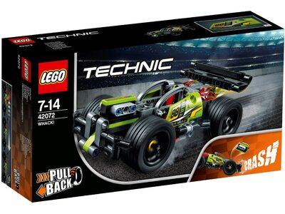 Купить Лего 42072 БУМ! Зеленый гоночный автомобиль, Техник.