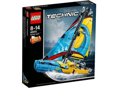 Купить Лего 42074 Гоночная яхта, Техник.