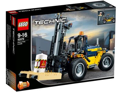Купить Лего 42079 Сверхмощный вилочный погрузчик, LEGO Technic.