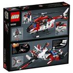 Купить Лего 42092 Спасательный вертолёт серии Техник.