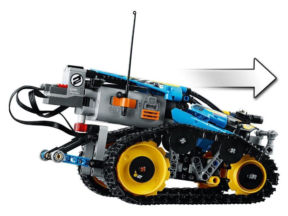 Конструктор lego technic швидкісний всюдихід з дк 42095
