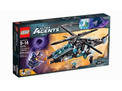 Конструктор Ультравертолёт против Антиматерии LEGO® Ultra Agents 70170
