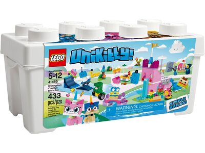 Купить Лего 41455 Коробка кубиков для творческого конструирования «Королевство», Unikitty.