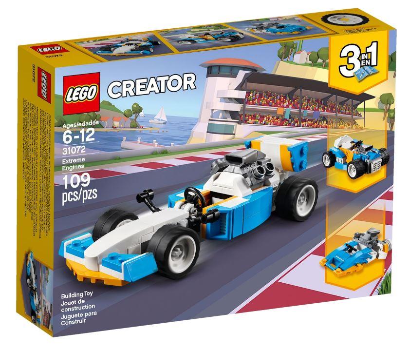 Детский конструктор LEGO Супердвигатель (31072)