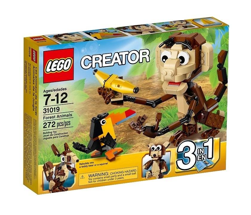 Детский конструктор LEGO Лесные животные (31019)