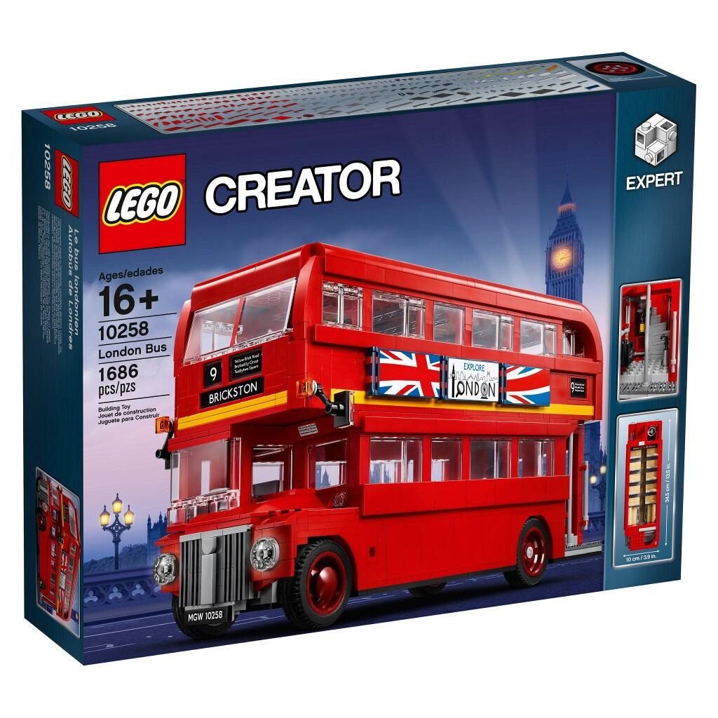 Детский конструктор LEGO Лондонский автобус (10258)