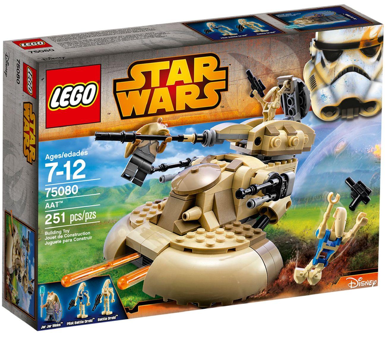 Детский конструктор LEGO AAT Бронированный штурмовой танк (75080)