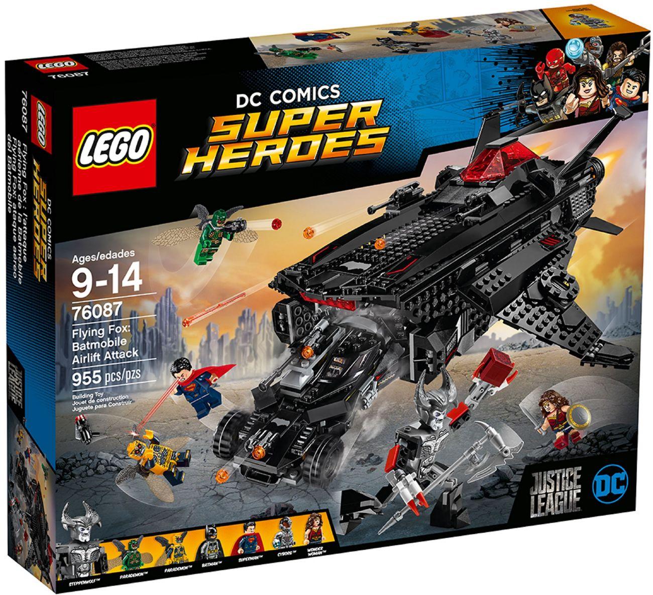 Детский конструктор LEGO Летающий Лис: Атака с Бэтмобиля (76087)