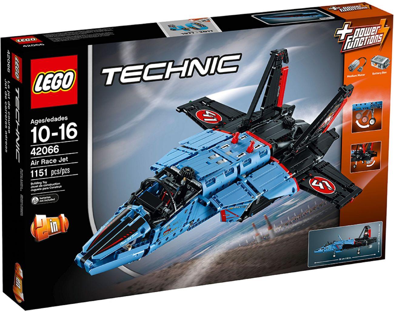 Детский конструктор LEGO Сверхзвуковой истребитель (42066)