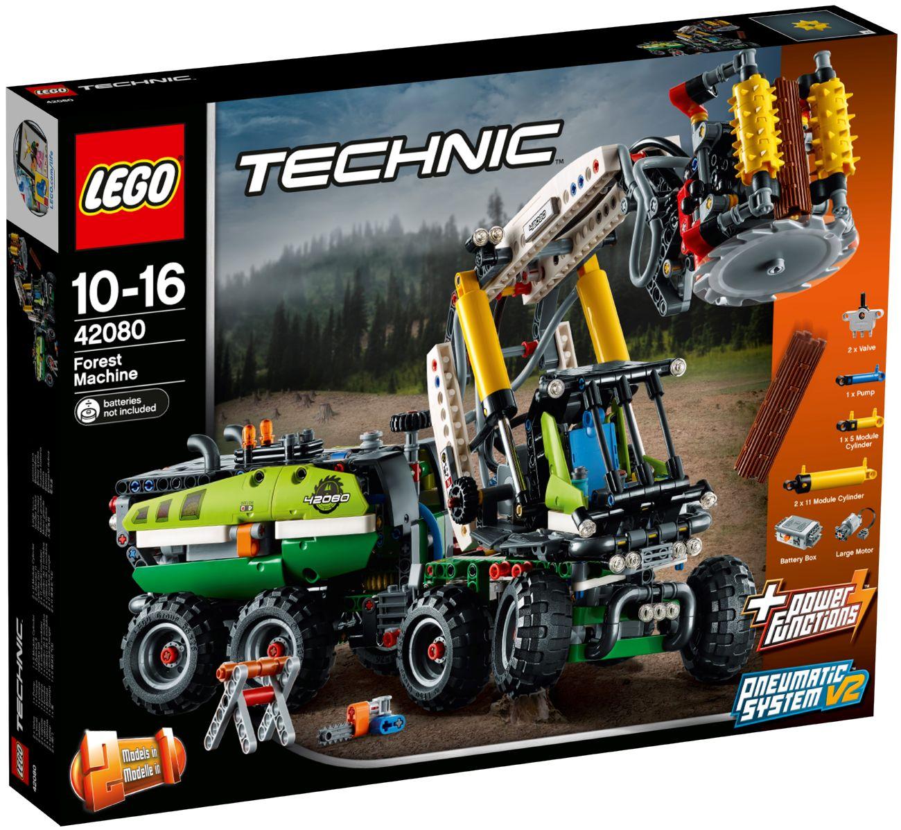 Детский конструктор LEGO Лесозаготовительная машина (42080)
